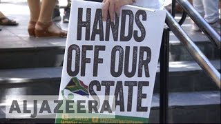 South Africa: Protests erupt after President Zuma sacks ministers
