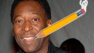 Cómo dibujar a Pelé