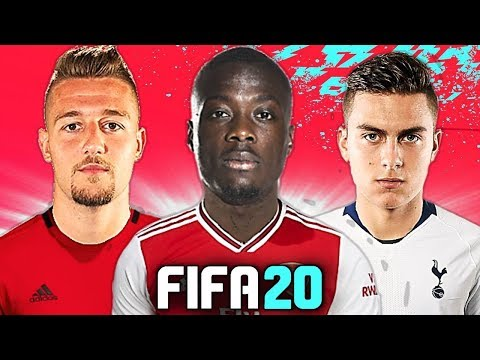 L'ARSENAL RUBA PÉPÉ AL NAPOLI!? 😱 TOP 10 TRASFERIMENTI FIFA 20 - ESTATE 2019 | Dybala, Pogba, James