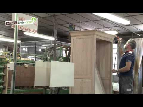 La fabrication des meubles en bois