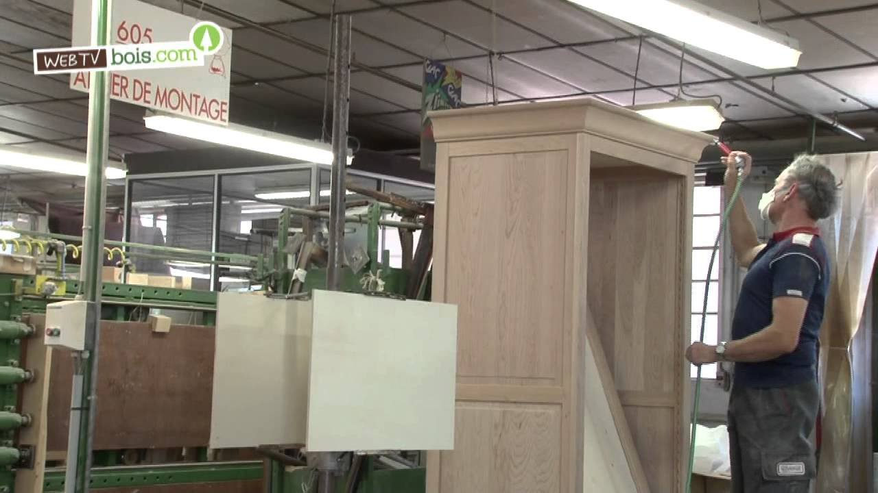 la fabrication des meubles en bois youtube. Black Bedroom Furniture Sets. Home Design Ideas
