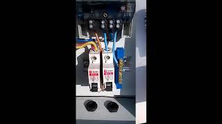 видео Установка электросчетчика в доме