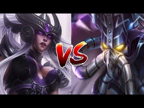 видео: Лига Легенд | Синдра против Кассадина