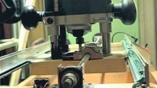 Самодельный станок для фрезера (homemade DIY milling cutter device)