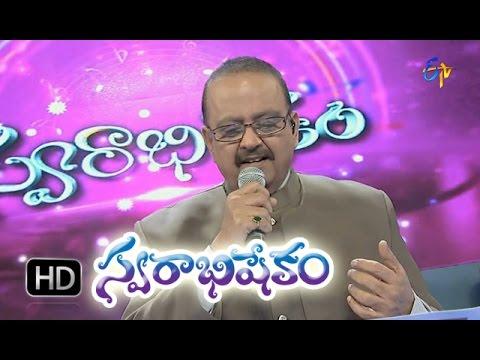 Mallelu Poose Vennela Song - SP Balasubrahmanyam Performance in ETV Swarabhishekam -11th Oct 2015