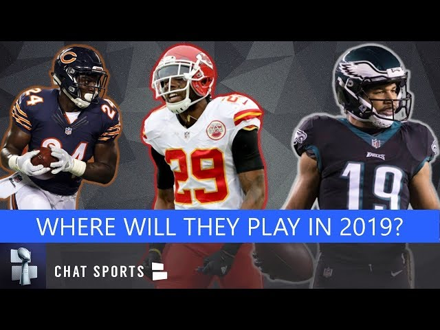 NFL Free Agency Rumors & News On Eric Berry, Golden Tate Plus Jordan Howard Trade Rumors
