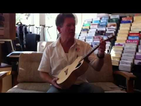 ABC Music Store & Academy In Benicia, CA Demonstrates Hand Made Custom Ukulele