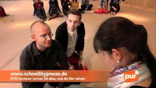 Blitzhypnose im ZDF: Hypnose selbst machen!