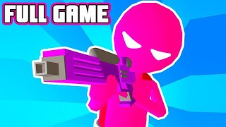 Paintman 3D - Color shooter Full Game Walkthrough