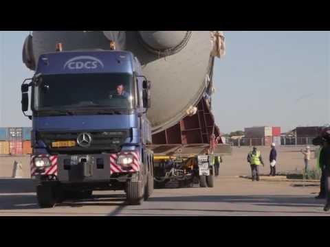 CDCS Heavy cargo transportation - Absorber Kazakhstan