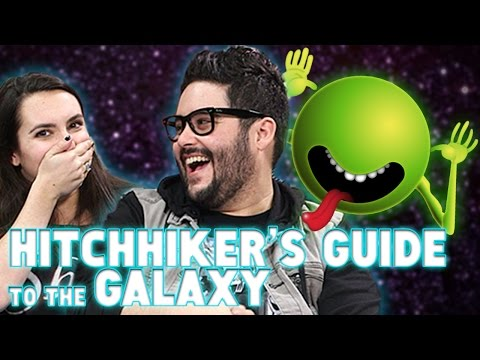 Hitchhiker's Guide to the Galaxy on Book Club!!