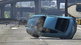 GTA 5 SCARY CAR CRASHES COMPILATION!!!