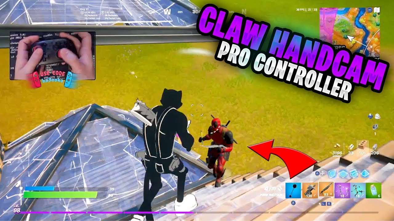 Fortnite on the Nintendo Switch Pro Controller #361