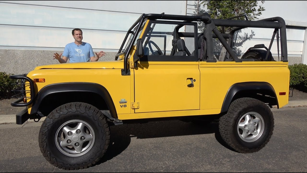 Here S Why The Land Rover Defender Costs So Much In The Usa Youtube