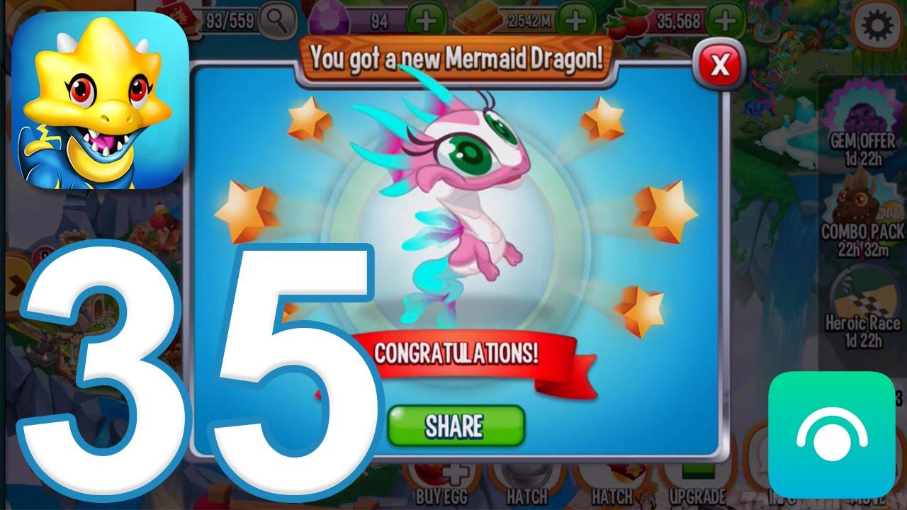 Dragon City - Gameplay Walkthrough Part 35 - Level 28 (iOS, Android)