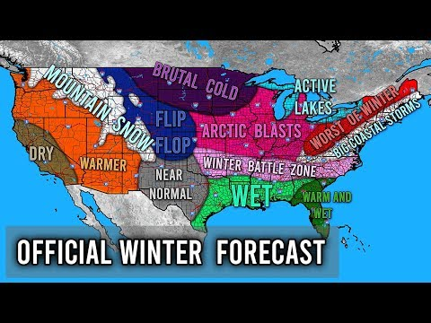 Official Winter Forecast 2019 - 2020