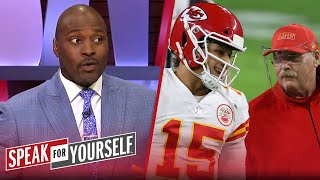 Chiefs are playing with fire by resting Mahomes before playoffs — Wiley | NFL | SPEAK FOR YOURSELF