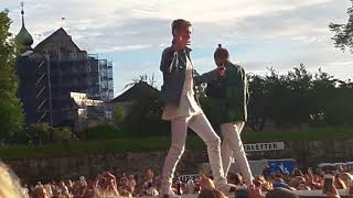 Marcus & Martinus Make You Believe In Love + Dance With You (Beginning of) Bergen August 2018