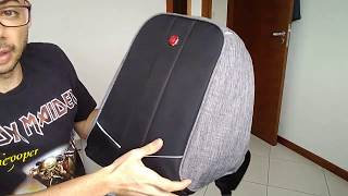 Review Mochila Anti Furto Para Notebook Swissland - Impermeável c/ USB