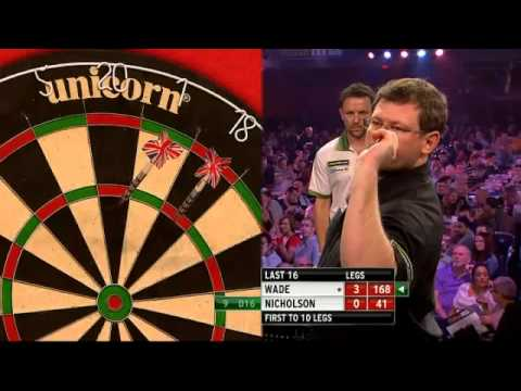 PDC Grand Slam of Darts 2013 - Second Round - Wade VS Nicholson