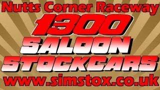 Sim-Stox - 1300 Saloon Stockcars - Nutts Corner Raceway - Grand Final