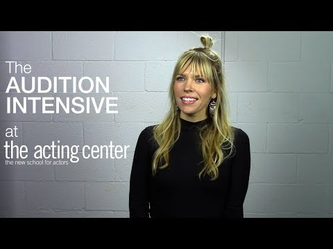 Kirstin Ford on The Audition Intensive at The Acting Center  Is this what you want?
