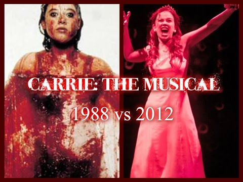 "Carrie: The Musical - ""The Destruction"" w/ Lyrics (1988 vs 2012)"