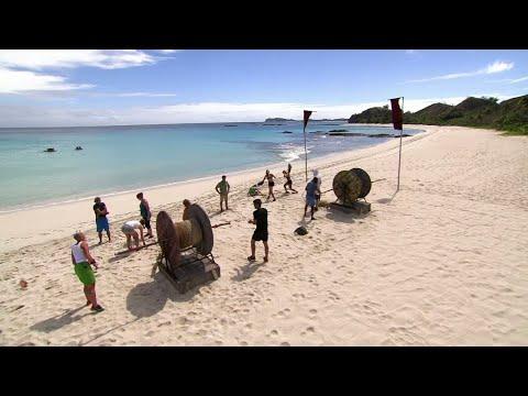 Lag Nord och lag Syd gör upp i pristävling om tändstål  – Robinson (TV4)