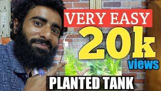 how to setup planted tank Hindi/Urdu