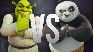 Эпическая Рэп Битва | Шрек VS Кунг-Фу Панда!