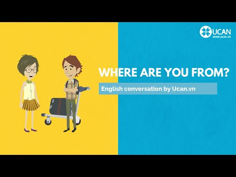 Learn English Conversation: Lesson 3. Where are you from?