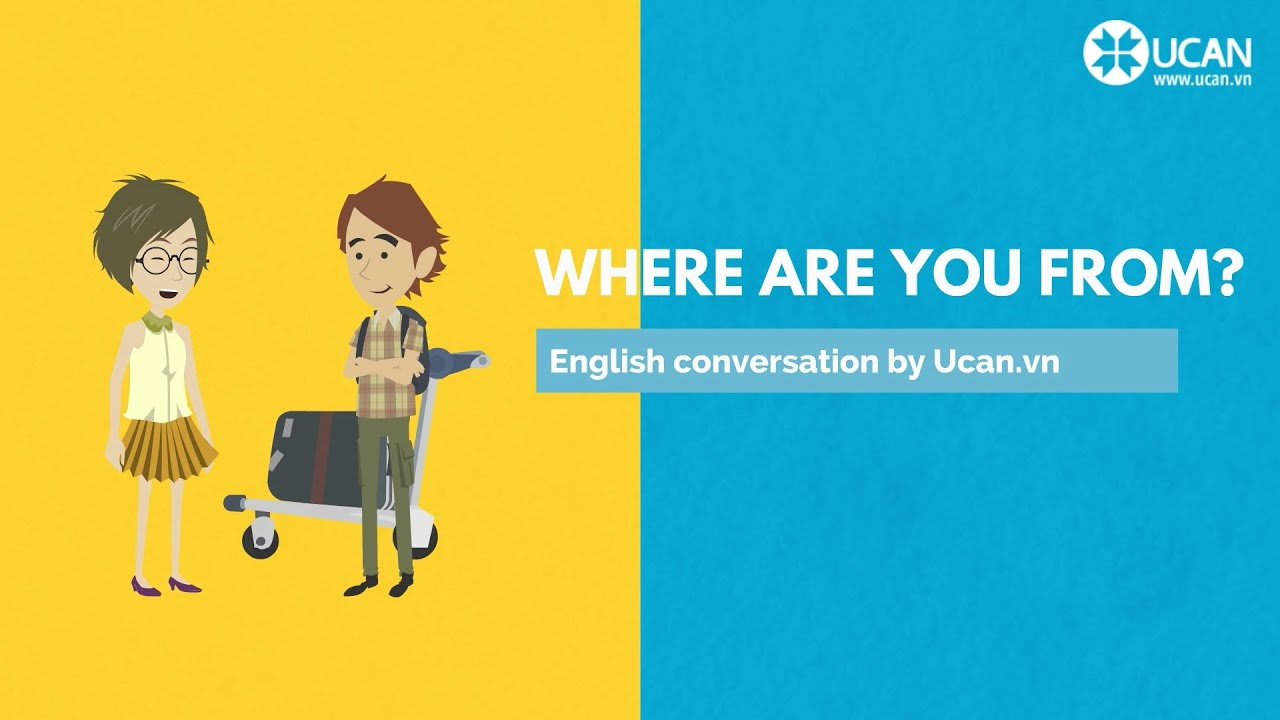 English In Italian: Learn English Conversation: Lesson 3. Where Are You From
