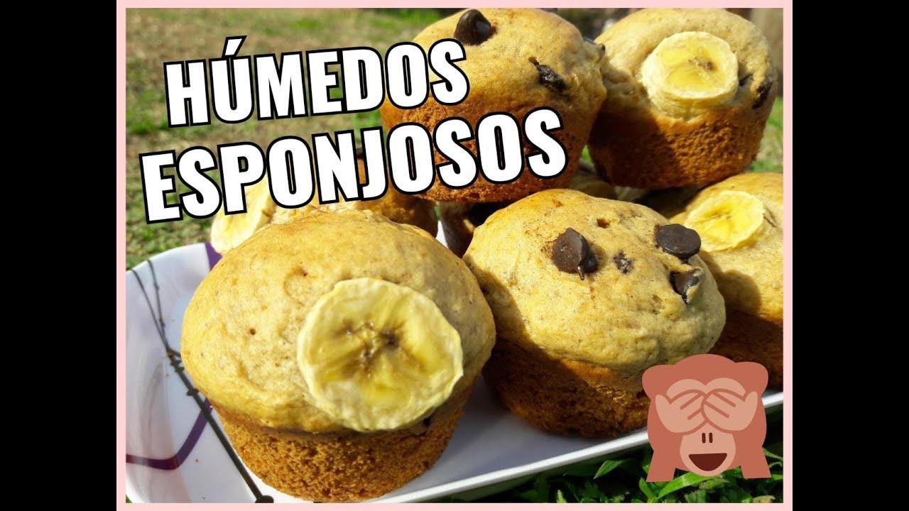 MUFFIN DE BANANA 🍌🍌¡ Deliciosos!