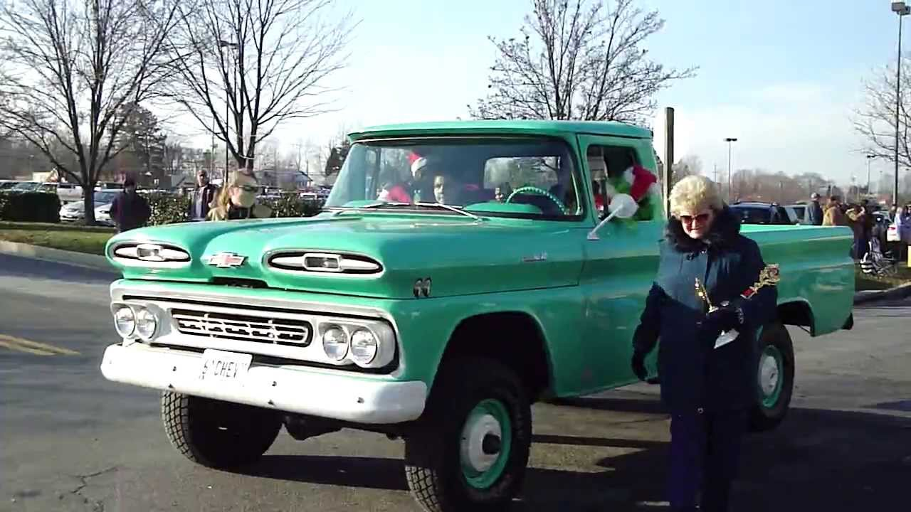 Pickup 61 chevy pickup : Special Olympics CC followed by '61 Chevy Truck - YouTube