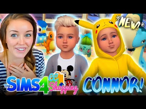 *NEW* CC SHOPPING FOR BABY CONNOR! 👶🏼(The Sims 4 CC Shopping!🛍)