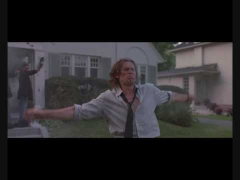 Boondock Saints. There was a fire fight! Epic shootout scene.