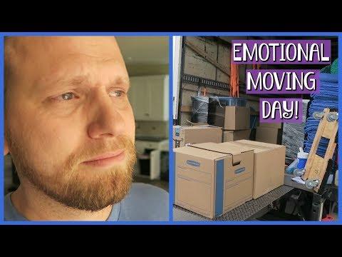 EMOTIONAL MOVING DAY | FAMILY VLOG