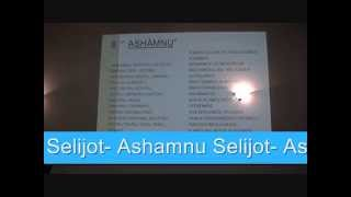 Selijot Ashamnu