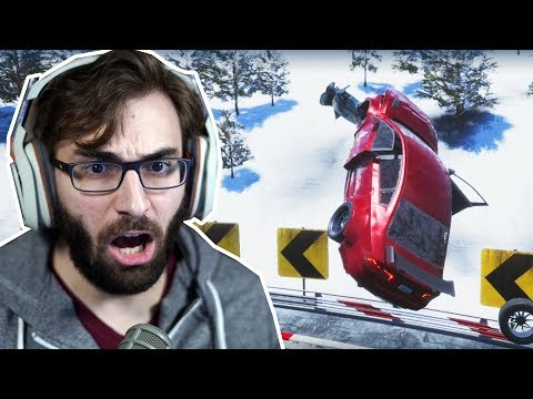 Dos Criadores de Burnout - DANGEROUS DRIVING | Gameplay no PS4 Pro
