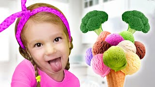 Do You Like Broccoli Ice Cream? | Tim and Essy Sing Nursery Rhymes Song for Kids