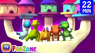 Finger Family Dinosaurs Andamp Many More 3d Nursery Rhymes Andamp Songs For Babies