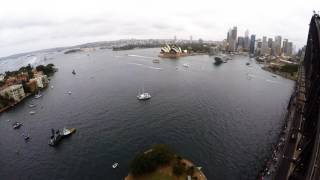 Time-lapse of Sydney Harbour, Australia Day 2017