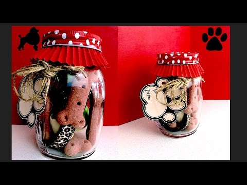 how-to-make-mason-jar-dog-gift-puppy-birthday-present---diy-dog-food-by-cooking-for-dogs
