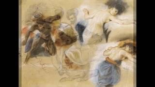 Эжен Делакруа-французский живописец и график XIX века. Романтизм. Галерея работ