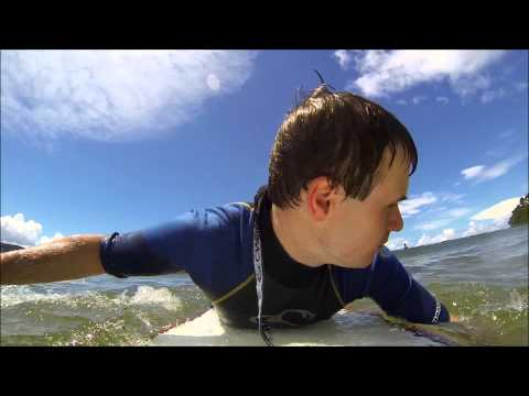 Surfing at Palm Beach NSW testing my new GoPro Hero 3 camera