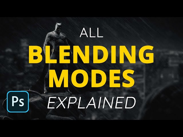 Blending Modes in Photoshop Explained!