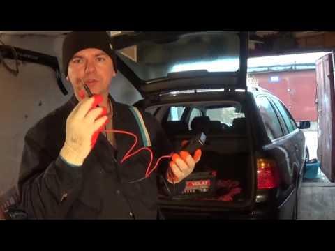 Диагностика и замена аккумулятора в БМВ Е39 своими руками