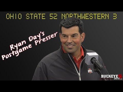 Ohio State Buckeyes Football: Ryan Day talks win over NU