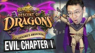 Galakrond's Awakening Heroic EVIL Chapter 1 | Adventure | Hearthstone