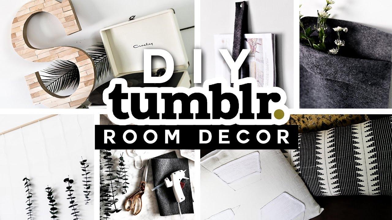 DIY Tumblr Room Decor Ideas for 2017 ? ️ ? Minimal ... on Room Decor Tumblr id=38618
